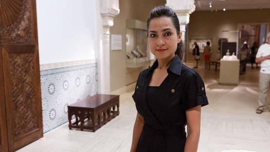 Shahzia Sikander - Portrait - Photo via metmuseumorg