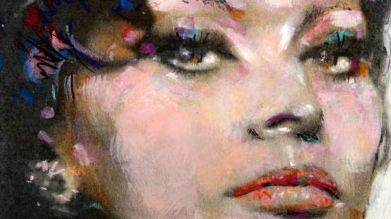 Sid Maurer - Sophia Loren (detail)