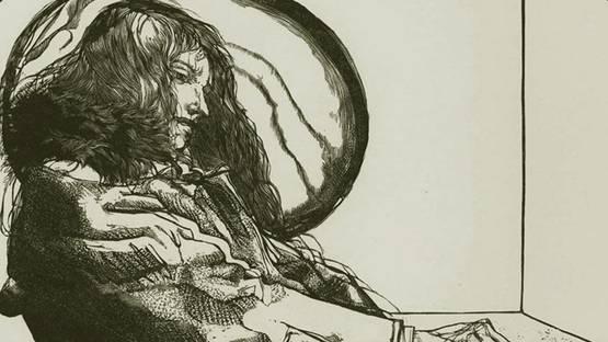Sigmund Abeles - Philosophy Student (detail)