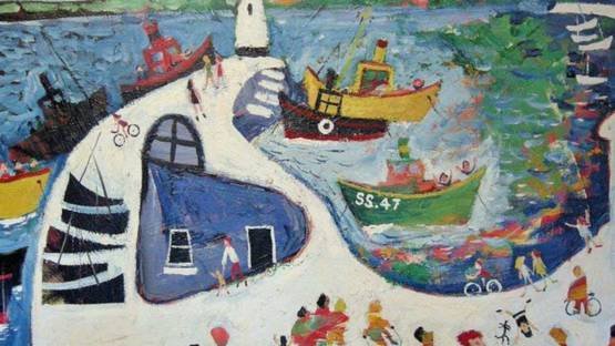 Simeon Stafford - St Ives Pier, 2008 (detail)