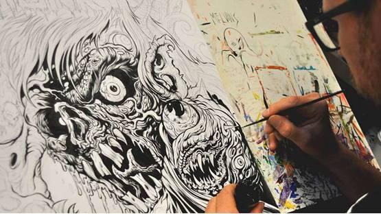 Skinner - work in progress, photo credits of the artist