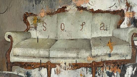 Song Yuanyuan - Sofa (detail), 2011 - image via sothebyscom