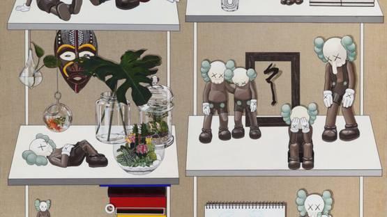 Sooyoung Chung - Untitled (KAWS), 2020 (detail)