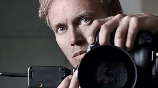 Soren Solkaer - Self-portrait (detail) - image courtesy of the artist