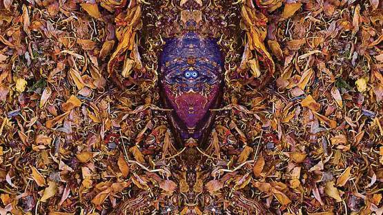 Stephen Calhoun - African Alchemy Totem 3 (detail), photo credits of the artist