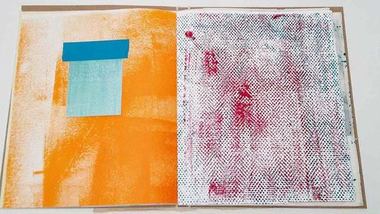 Stephen Maine - Book 14-0103 in progress - Image via studiocritical