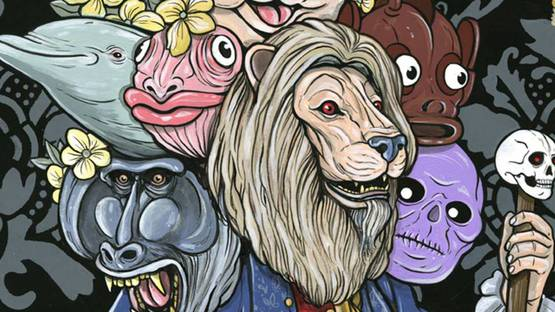 Steve Seeley - Untitled (King of Heads), 2013 (detail) - Copyright Steve Seeley