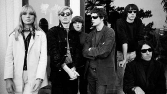 Steve Schapiro - Andy Warhol, Nico, and the Velvet Underground, 1965 (detail)