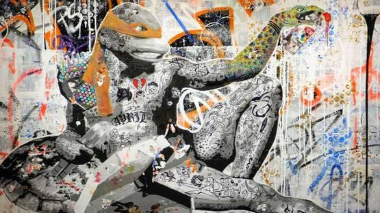 Stikki Peaches - Untitled (detail)