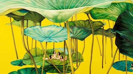 Su-en Wong - Golden Fable, 2003 (detail)