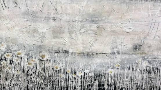 Susan Woldman - Flower Horizon, 2017 (detail)