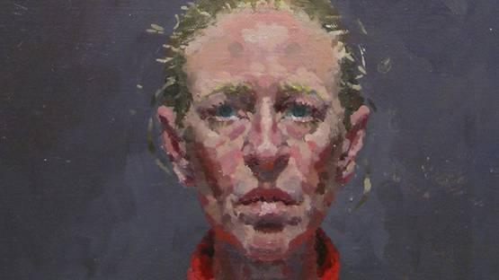 Susanna Coffey - Self Portrait (Red Jersey) - detail, 1994, photo credits Alpha Gallery