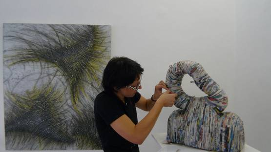 Susi Muller - portrait, image courtesy of Galerie Wuensch Aircube