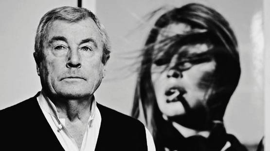 TERRY O'NEILL with his iconic shot of BRIGITTE BARDOT