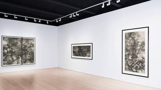Tai Xiangzhou - Celestial Tales at Paul Kasmin Gallery, New York, installation view, 2015, courtesy Paul Kasmin Gallery