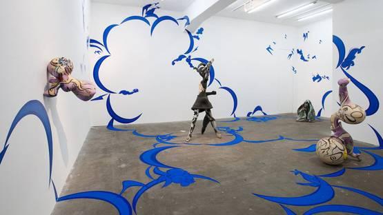 Takashi Hinoda - installation view, 2012, photo via deanproject