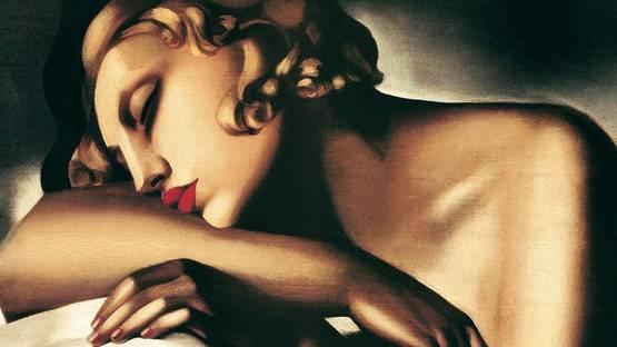 Tamara de Lempicka - The Sleeper (detail)