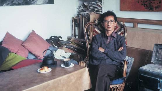 T'ang Haywen - artist, photo by Yonfan Manshih, Spring 1991