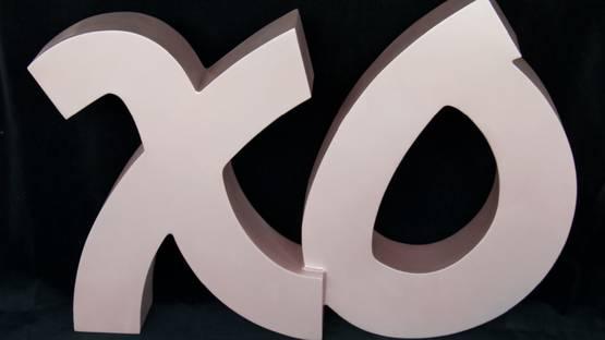 Tara Conley - XO Sculpture, 2019 (detail)