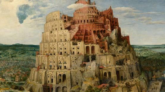 Pieter Bruegel the Elder - The Tower of Babel, 1563 (detail)