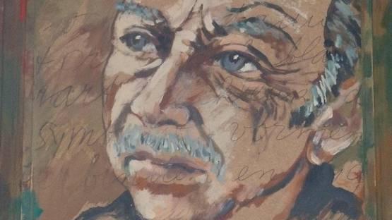 Theo Wolvecamp - Autoportrait, copyrights Jeron Bevers (detail)