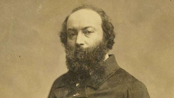 Theodore_Rousseau, Portrait via Wikipedia