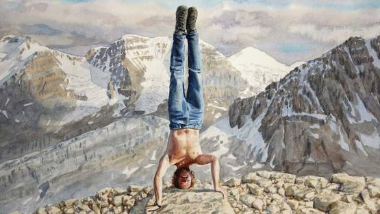 Tim Gardner - Headstand, 2013