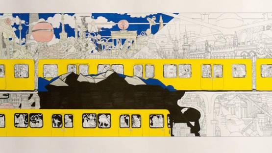 Tin - Untitled, 2015, Image courtesy of Urban Spree Galerie