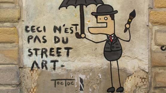 Toctoc - street art - photo via pinterest