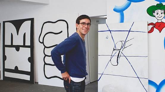 Tom Krol - artist, photo by Nils Müller