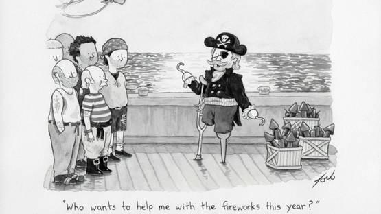 Tom Toro - Pirate Fireworks, 2016 (detail)