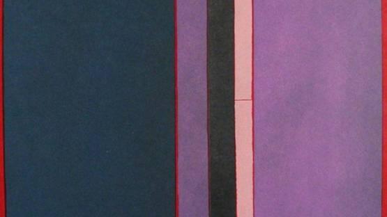 Toti Scialoja - Composizione a colori, 1970 (detail)