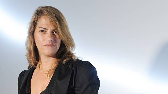 Tracey Emin - Portrait detail,  Image copyrights © Rune Hellestad, Corbis via The Guardian