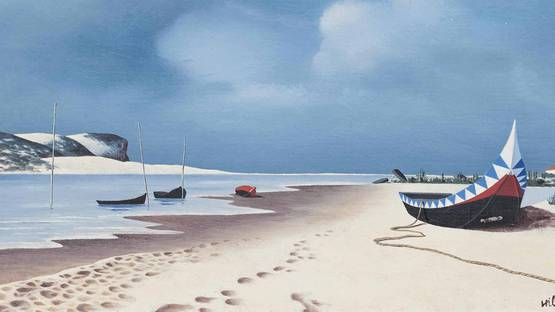 Tristram Hillier - The Lagoon (Detail), 1947