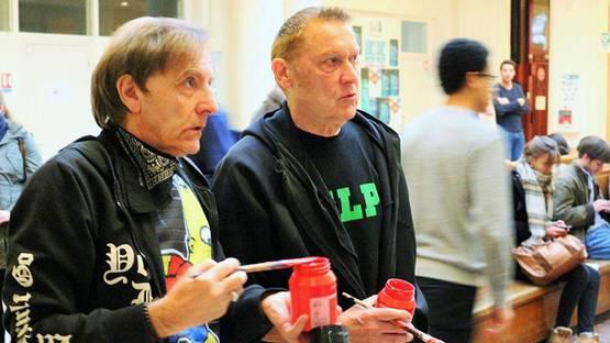 VLP - Michel Espagnon and Jean Gabaret at Performance du 13 mars
