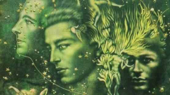 Valentine Hugo - detail of an artwork, photo via alchetron