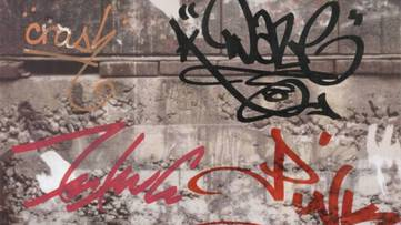Various Artists - Graffiti, 1992 (detail)