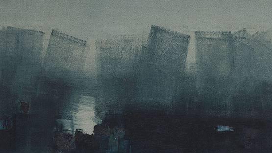 Vasudeo S. Gaitonde - Untitled (detail) - 1962