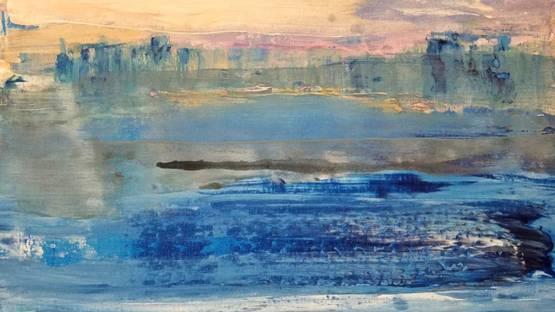 Vian Borchert - Distant City By The Sea, 2019 (detail)