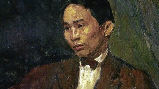 Victorio C. Edades - Self-Portrait (detail)