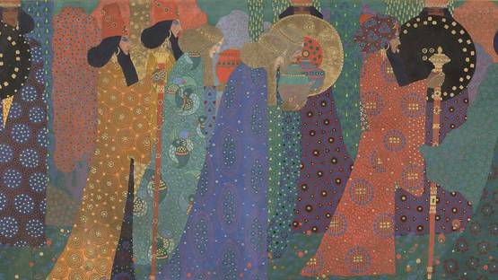 Vittorio Zecchin - One and Thousand Nights (detail), 1914, photo credits Musee d Orsay