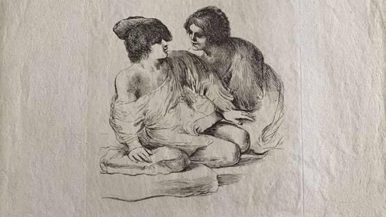 Vivant Denon - Joseph And Potiphar's Wife, ca 1790 (detail)