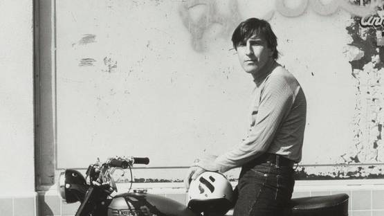 Wallace Berman – Photo of the artist, 1964 – Image via Dennis Hopper