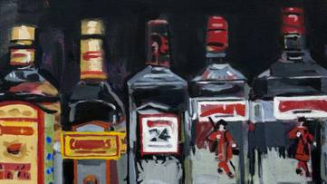 Walter Robinson - Gin, 2013 - Courtesy of the artist