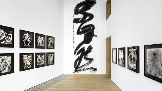 Wang Dongling - The Origins of Abstraction, Beijing Ink Studio, installation view, 2014, photo via inkstudio com cn