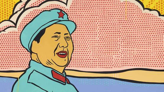 Wang Ziwei - Hopeless (Life), 1996 - detail. Image via mutualart