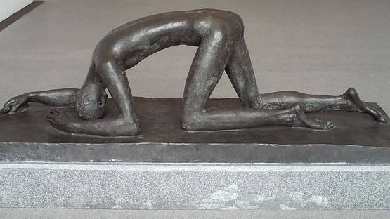 Wilhelm Lehmbruck - Untitled - image courtesy of Pinterest