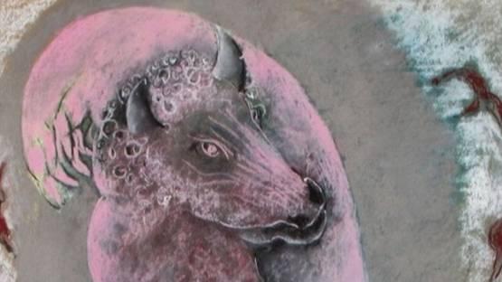 Willeke van Tijn - Minotaurus (detail)