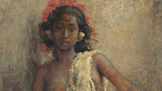 Willem Gerard Hofker - Ni Gusti Kompiang Mawar (detail), 1940