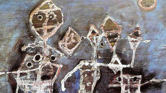 Willem Van Hecke - White Figures (detail), 1952, photo credits - Lawrence Lee Magnuson